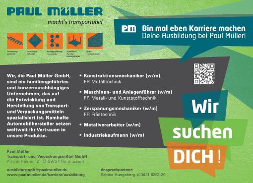 online bewerben stellenanzeige pdf - Muller Online Bewerbung