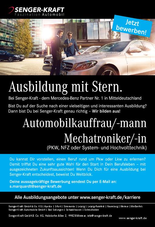 stellenanzeige pdf - Bewerbung Ausbildung Automobilkaufmann
