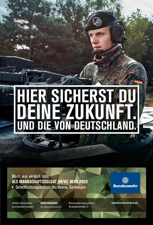 online bewerben stellenanzeige pdf - Bundeswehr Online Bewerbung
