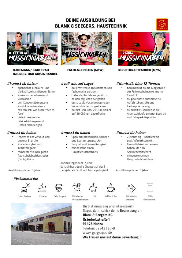 Bewerbung zur Ausbildung als Berufskraftfahrer/in ...